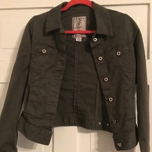 Guess Olive jean jacket